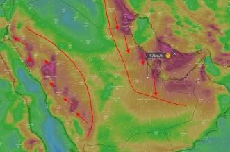 المسند يتوقع رياحًا نشطة وغبارًا على 4 مناطق - المواطن