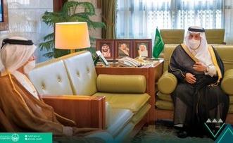 أمير الرياض يستقبل القائم بالأعمال في سفارة دولة قطر - المواطن
