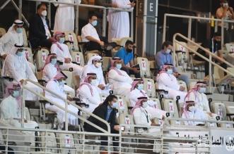 وزير الرياضة بـ مباراة الأهلي ضد الاستقلال