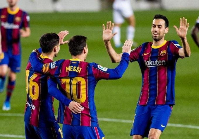 Barcelona يسحق خيتافي بخماسية