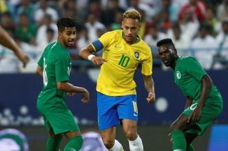 نيمار أمام المنتخب السعودي بـ أوليمبياد طوكيو