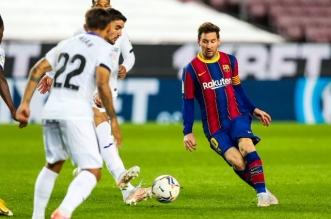 ليونيل ميسي في ترتيب هدافي الدوري الإسباني