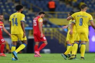 حمدالله في مباراة النصر وفولاد