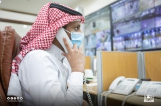 عمليات شؤون الحرمين تستقبل 500 ألف بلاغ - المواطن
