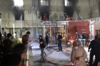 ارتفاع حصيلة ضحايا حريق مستشفى ابن الخطيب ببغداد لـ 81 قتيلاً - المواطن