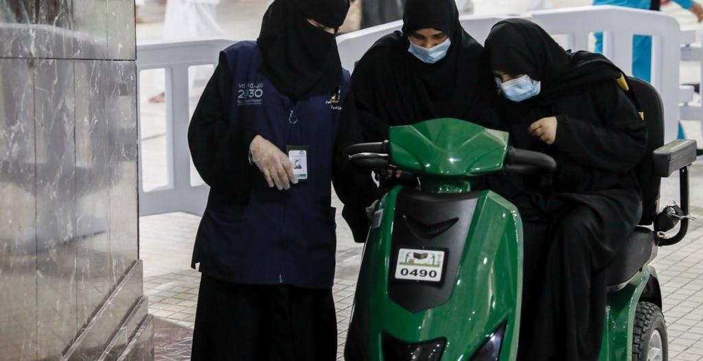 تجنيد 1500 امرأة لخدمة قاصدات وزائرات المسجد الحرام
