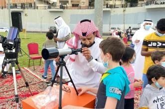 طلاب عسير يرصدون هلال رمضان فلكيا