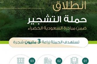 الحرس الوطني يزرع 3 ملايين شجرة في 1095 يوماً - المواطن
