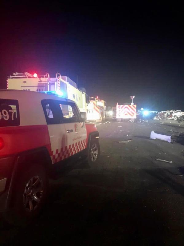 7 وفيات و5 إصابات في حادث تصادم على طريق المدينة القصيم القديم - المواطن