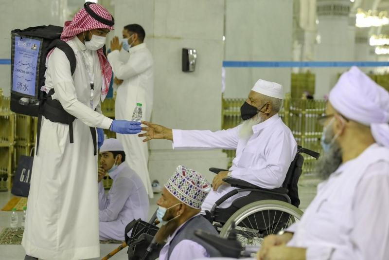 شؤون الحرمين تخصص 4 مصليات وبوابات لذوي الإعاقة - المواطن