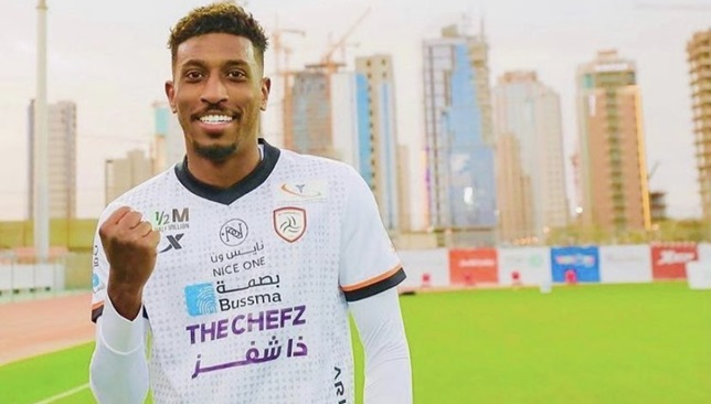 أحمد شراحيلي لاعب الشباب