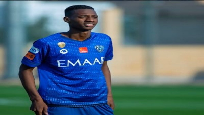 عبدالله رديف لاعب الهلال الشاب