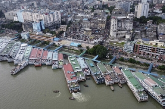غرق عبارة على متنها أكثر من 50 شخصًا وسط بنغلاديش - المواطن