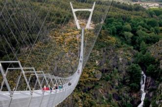 استعدادات لافتتاح أطول جسر مشاة بالعالم على ارتفاع 175 مترًا - المواطن