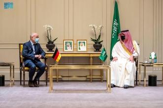عبدالعزيز بن سعود يبحث التعاون والتنسيق الأمني مع وزير الدولة بالداخلية الألمانية - المواطن