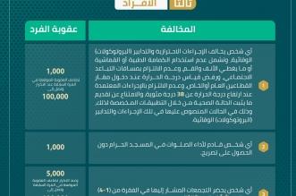 وزارة الداخلية : عقوبة الدعوة للتجمعات المخالفة تصل 100 ألف ريال - المواطن