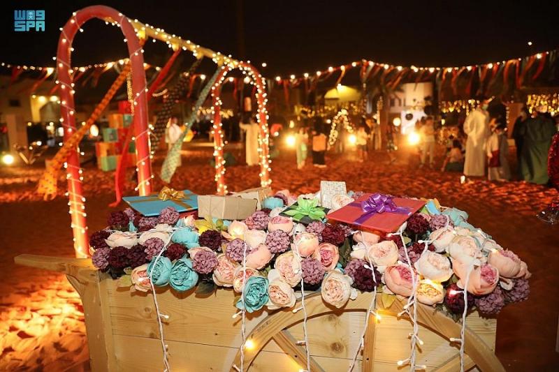 الحوامة في الدرعية فعاليات خاصة للأطفال احتفالًا بعيد الفطر - المواطن