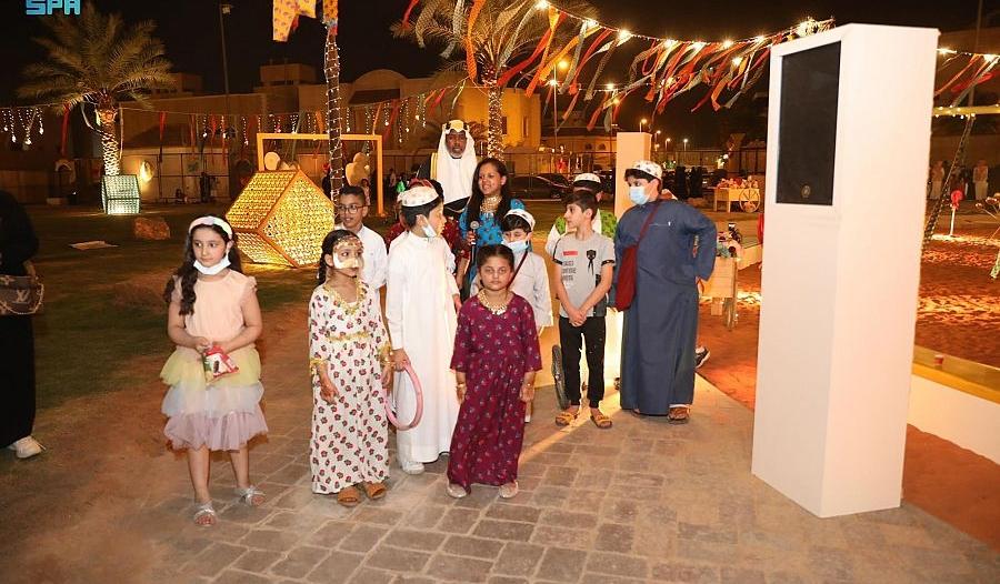 الحوامة في الدرعية فعاليات خاصة للأطفال احتفالًا بعيد الفطر