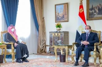 الرئيس المصري ووزير الرياضة