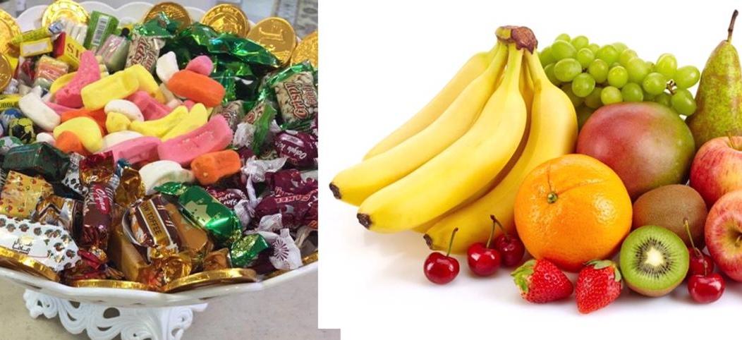 الفواكه أفضل من حلويات العيد للأطفال