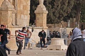 #القدس_ينتفض .. تجدد المواجهات في ساحات الأقصى المبارك - المواطن