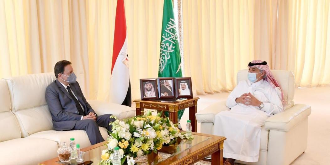 القصبي يبحث التعاون المشترك مع رئيس مجلس تنظيم الإعلام المصري