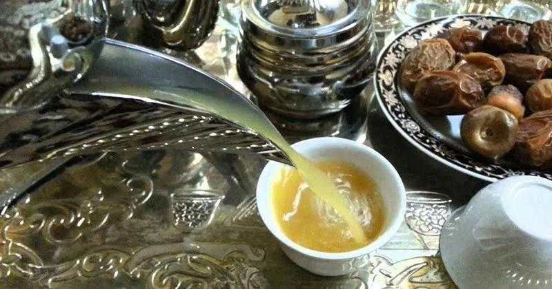 القهوة العربية تتصدر معايدات البيوت