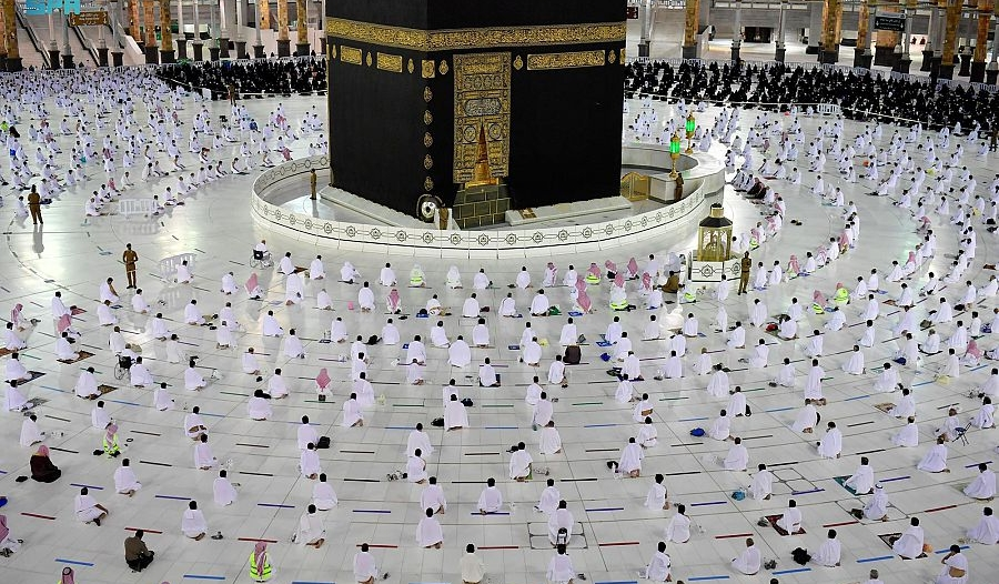 196 جهة وشخصية حول العالم تؤيد إجراءات السعودية في موسم حج 1442