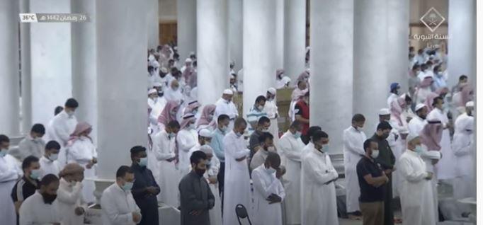 تلاوة خاشعة للشيخ أحمد الحذيفي ليلة 27 رمضان