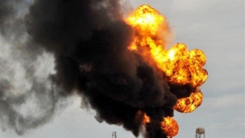 انفجار ضخم بشركة بتروكيماويات في إيران