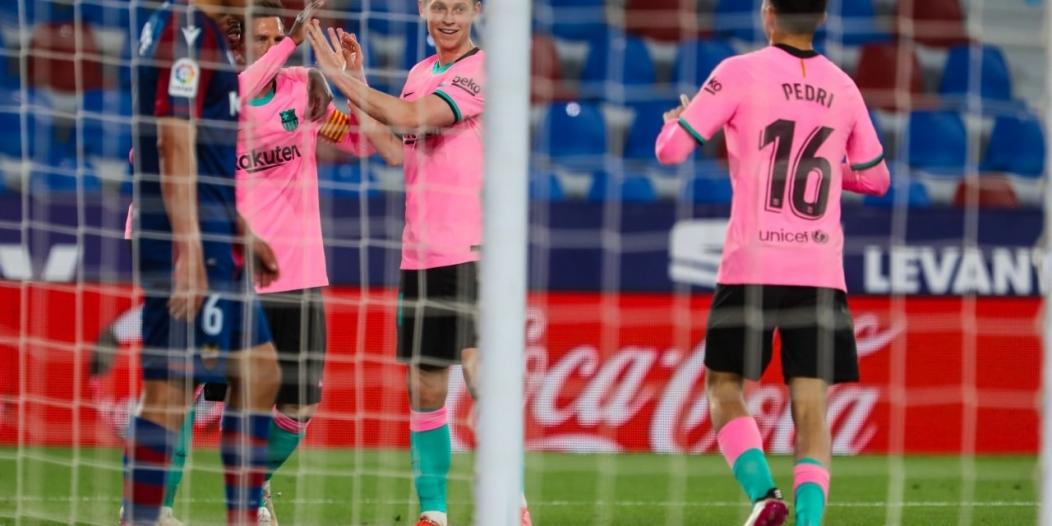 تعادل ليفانتي ضد برشلونة إيجابيًّا