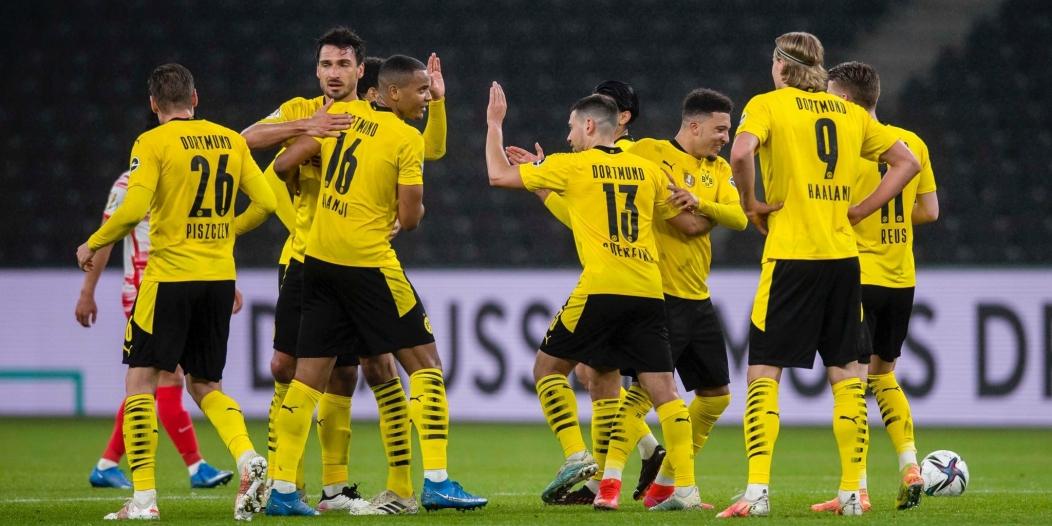 بوروسيا دورتموند بطلًا لـ كأس ألمانيا