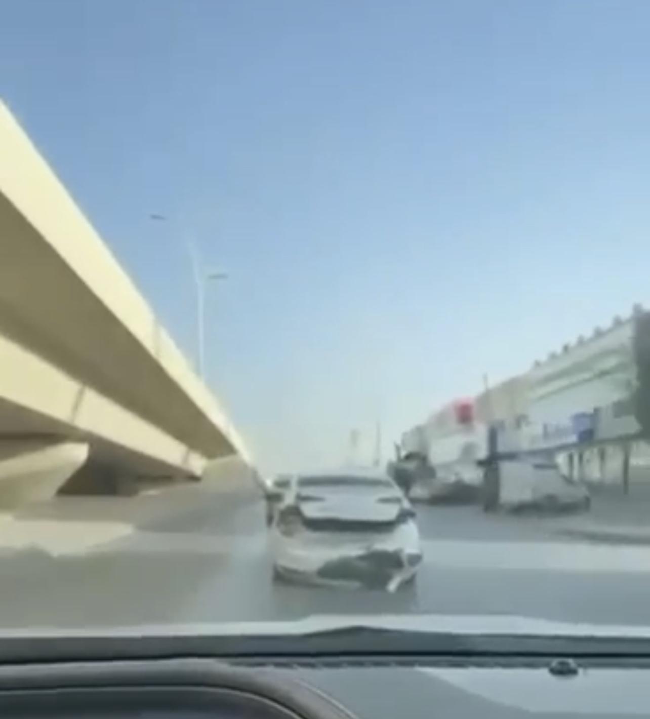 تصادم متعمد الرياض
