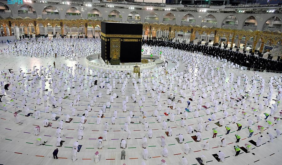 تفويج 3 ملايين معتمر ومصل منذ بداية شهر رمضان