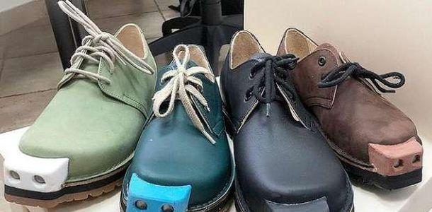 حذاء ذكي بمثابة ثورة حقيقية لمساعدة فاقدي البصر