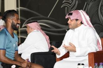 خالد البلطان يدعم الشباب قبل العين - المواطن