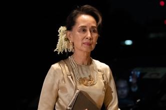 زعيمة ميانمار المخلوعة تظهر لأول مرة منذ الانقلاب