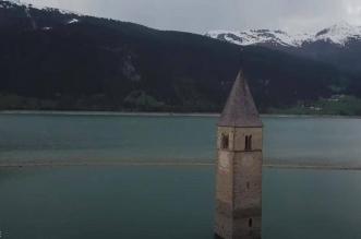 شاهد ظهور قرية في إيطاليا للنور بعد غرقها منذ 70 عامًا !