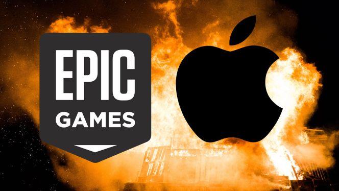 شركة آبل تورط مايكروسوفت في قضية Epic
