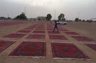 صلاة العيد في رفحاء