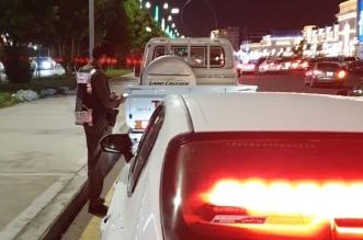 ضبط قائد مركبة في الطائف قاد بسرعة عالية - المواطن