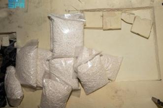 ضبط 2.7 مليون قرص إمفيتامين مخدر وضبط مقيمين ونازح