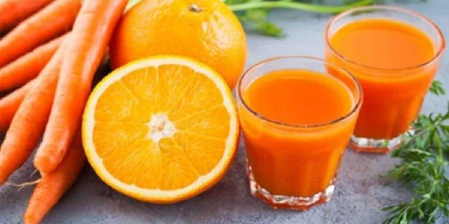 أسرار صحية لتناول عصير البرتقال مع الجزر