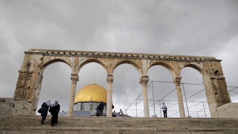 قوات الاحتلال الإسرائيلي تقتحم مجددًا المسجد الأقصى