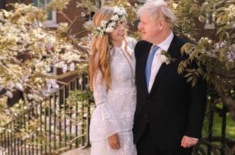 كواليس من داخل زفاف بوريس جونسون السري وسعر الفستان مفاجأة (3)
