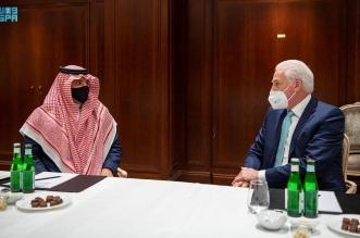 عبدالعزيز بن سعود يلتقي رؤساء تنفيذيين لعدد من الشركات الألمانية - المواطن
