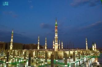 مآذن المسجد النبوي