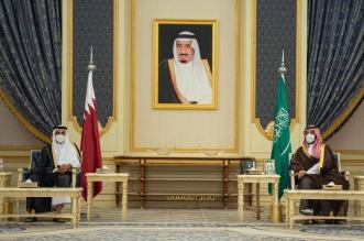 محمد بن سلمان وأمير قطر يستعرضان العلاقات الأخوية وأوجه التعاون الثنائي - المواطن