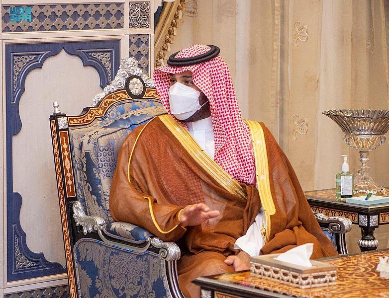 محمد بن سلمان يستقبل ولي عهد أبو ظبي بمطار الملك عبدالعزيز - المواطن