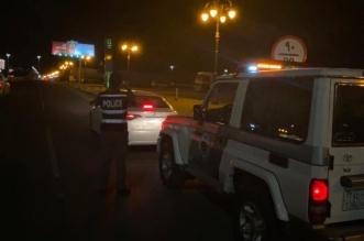 ضبط قائد مركبة سار عكس الاتجاه في تبوك - المواطن